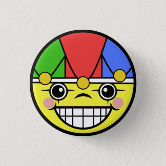 ジョーカーの顔 3.2CM 丸型バッジ