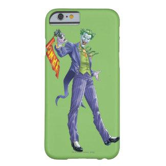 ジョーカーは銃によって立ちます BARELY THERE iPhone 6 ケース