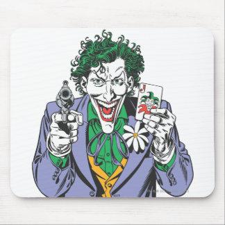 ジョーカーは銃を指します マウスパッド