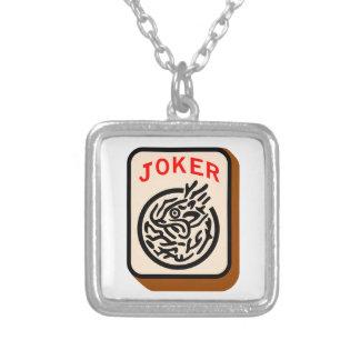 ジョーカー シルバープレートネックレス