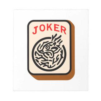 ジョーカー ノートパッド