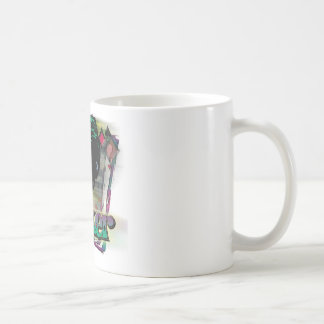 ジョーカー-顔およびロゴ コーヒーマグカップ
