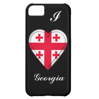 ジョージアのジョージ王朝の旗 iPhone5Cケース