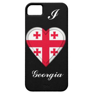ジョージアのジョージ王朝の旗 iPhone SE/5/5s ケース