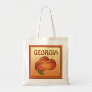 ジョージアのモモのトートバック トートバッグ