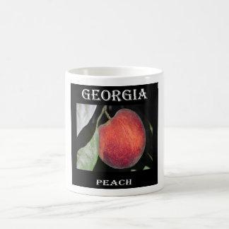 ジョージアのモモ コーヒーマグカップ