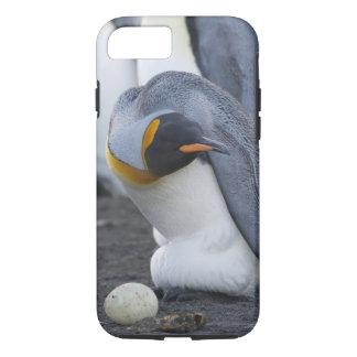 ジョージアの南島、金ゴールド港。 キングペンギン3 iPhone 8/7ケース