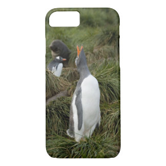 ジョージアの南島、Godthul。 Gentooのペンギン iPhone 8/7ケース