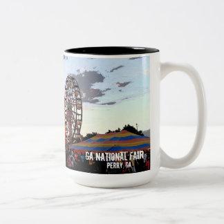 ジョージアの国民市、ペリーGA ツートーンマグカップ