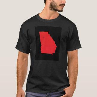 ジョージアの地図 Tシャツ