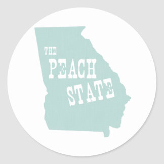 ジョージアの州のモットーのスローガン ラウンドシール