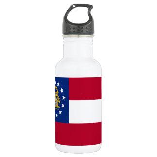 ジョージアの州の旗 ウォーターボトル