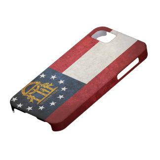 ジョージアの州の旗 iPhone SE/5/5s ケース