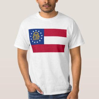 ジョージアの州の旗 Tシャツ