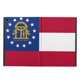 ジョージアの旗との愛国心が強いipadの場合 iPad airケース