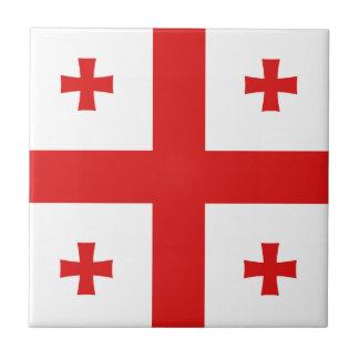 ジョージアの旗のセラミックタイル タイル