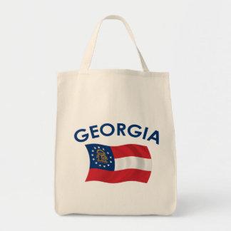 ジョージアの旗 トートバッグ