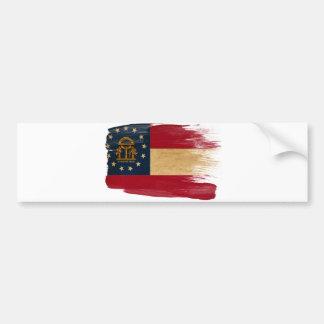 ジョージアの旗 バンパーステッカー