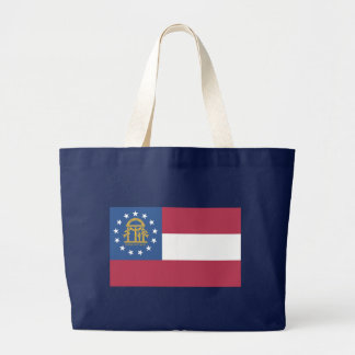 ジョージアの旗 ラージトートバッグ