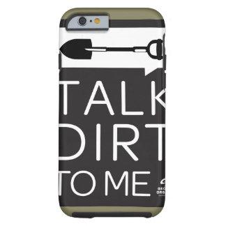 ジョージアの有機物の耐久のIphoneの場合 ケース