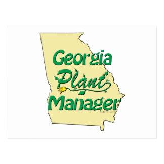 ジョージアの植物マネージャー ポストカード