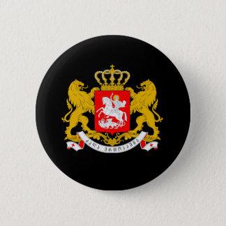ジョージアの紋章付き外衣 5.7CM 丸型バッジ