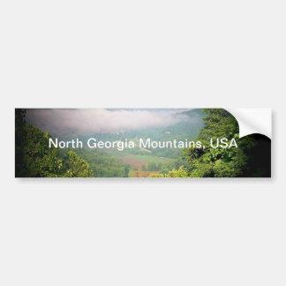 ジョージア北の山、米国 バンパーステッカー