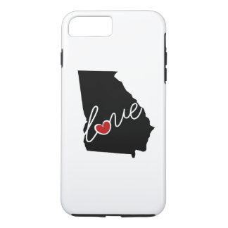 ジョージア愛! GAの恋人のためのギフト iPhone 8 PLUS/7 PLUSケース