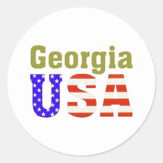 ジョージア米国! ラウンドシール