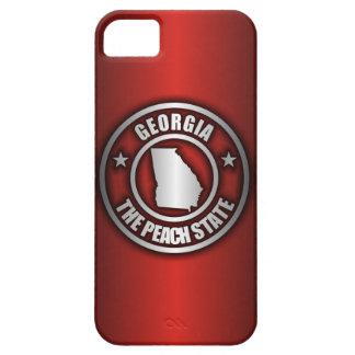 """""""ジョージア鋼鉄""""のiPhone 5つのケース(赤い) iPhone SE/5/5s ケース"""