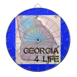 """""""ジョージア4生命""""の州の地図のプライドのデザイン ダーツボード"""