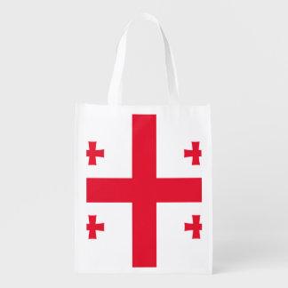 ジョージア(国) -の旗 エコバッグ