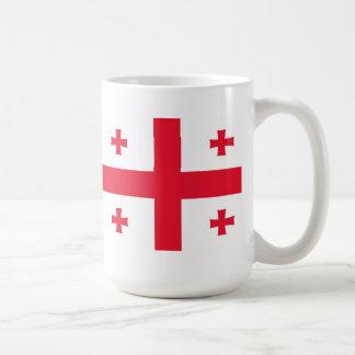 ジョージア(国)の旗 コーヒーマグカップ