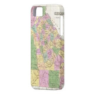 ジョージア(1827年)のヴィンテージの地図 iPhone SE/5/5s ケース
