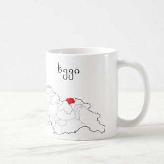 ジョージア。 Sakartvelo。 Xevi。 Khevi コーヒーマグカップ