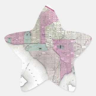 ジョージタウンおよびWashington D.C. 星シール