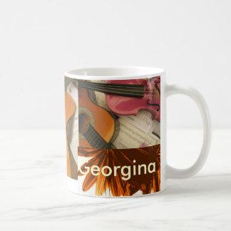 ジョージナ コーヒーマグカップ