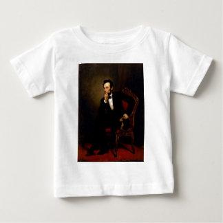 ジョージピーターアレキサンダーHealy著エイブラハム・リンカーン ベビーTシャツ