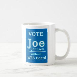 ジョージョンソンのための投票 コーヒーマグカップ