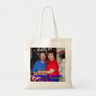 ジョージ及びカレンの愛鳥… トートバッグ