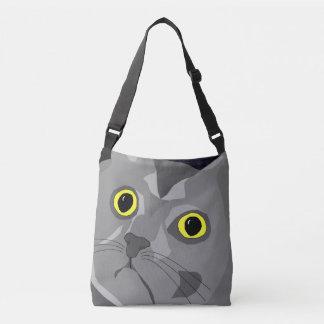 ジョージ猫の抽象芸術のバッグのデザイン クロスボディバッグ
