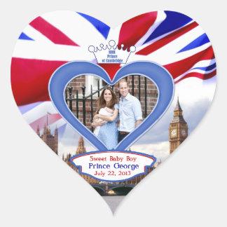 ジョージ王室のなイギリスのベビーの王子 ハートシール