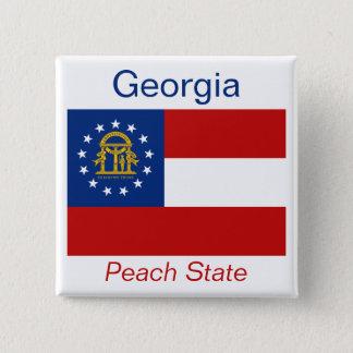 ジョージ王朝の旗ボタン 缶バッジ