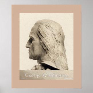 ジョージ・ワシントンのプリント ポスター