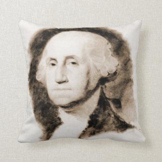 ジョージ・ワシントンのポートレート1850年 クッション
