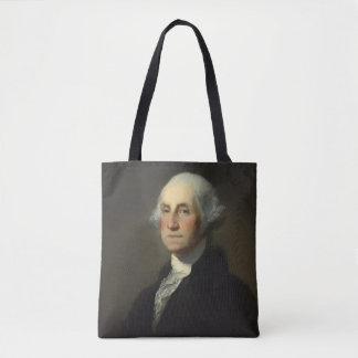ジョージ・ワシントンの歴史的なポートレート トートバッグ