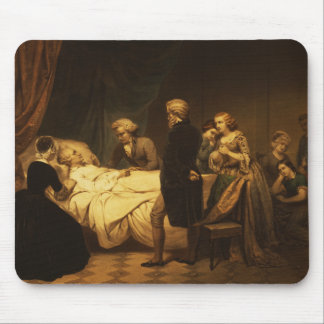 ジョージ・ワシントンの生命キリスト教の死 マウスパッド