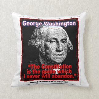 ジョージ・ワシントン憲法の引用文 クッション