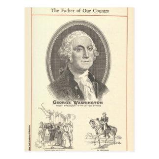 ジョージ・ワシントン ポストカード