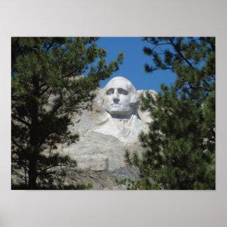 ジョージ・ワシントン、ラシュモア山大統領 ポスター